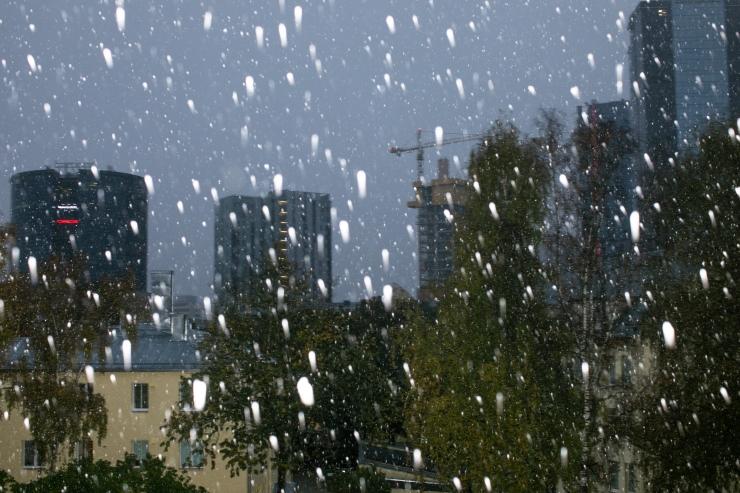 VIDEO: Homme sajab lörtsi ja vihma