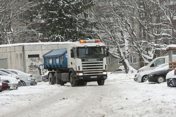 Temperatuuri langedes suureneb teedel libedaoht