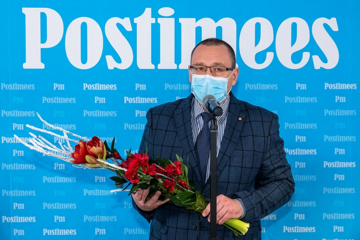 Postimehe aasta inimene 2020 on doktor Arkadi Popov