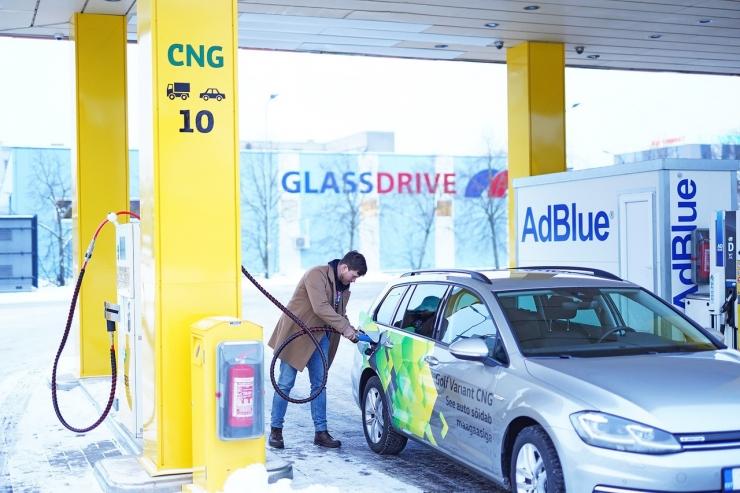 Olerex avas Tallinnas oma esimese CNG-jaama