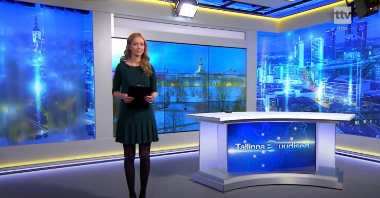 """""""Tallinna uudised"""" on eetris Kanal 12-s"""