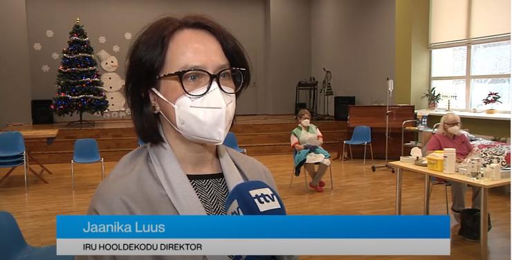 VIDEO! Iru hooldekodus algas vaktsineerimine