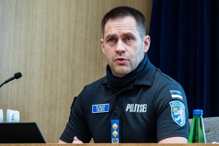 Elmar Vaher lõppenud aastast: pooled politsei väljakutsetest seotud alkoholiga ja piirikontroll Virtsus