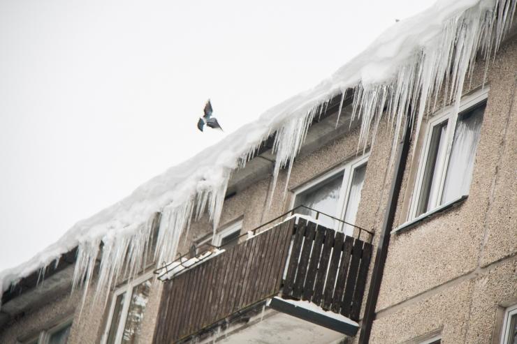 Kes hüvitab kahju, kui jääpurikas kukub pähe või autole?