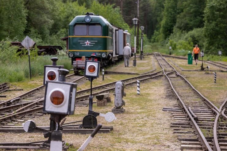 Raudteemuuseum valmistub rongiliikluse tulekuks