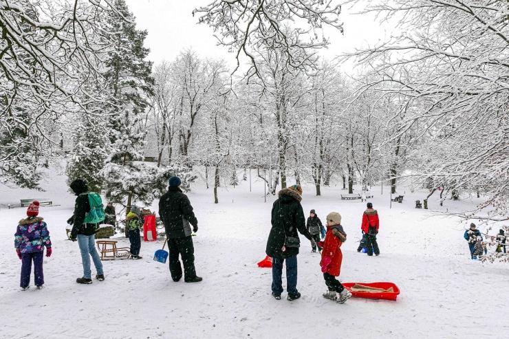 Tallinna kesklinnas saab nautida talverõõme