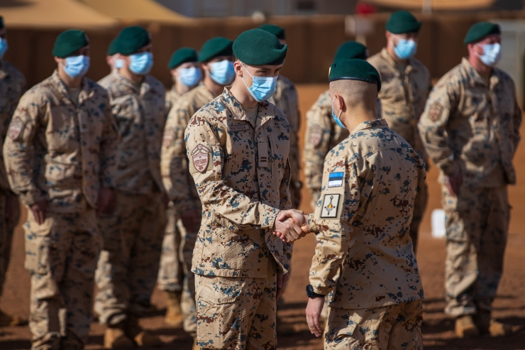 Scoutspataljon tähistas oma kuulsaima lahingu aastapäeva ka Malis