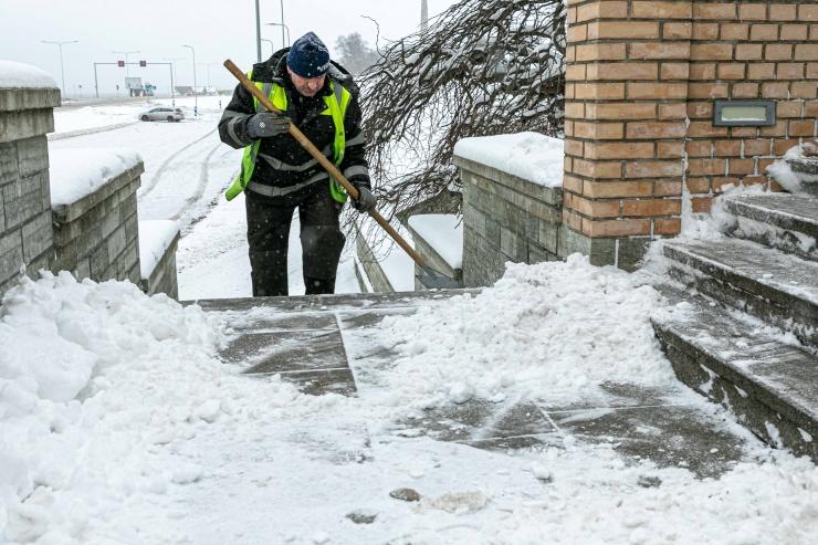 Tallinnas valitakse taas linna parimat lumemurdjat