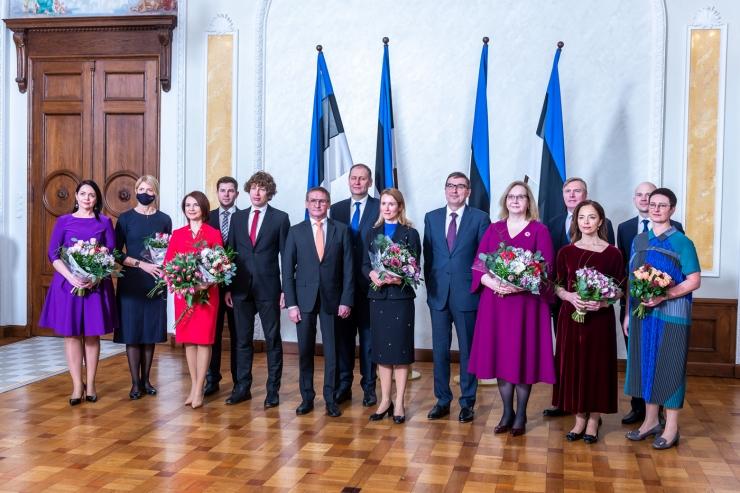 FOTOD! Ametivande andnud Kaja Kallase juhitav valitsus alustab tööd