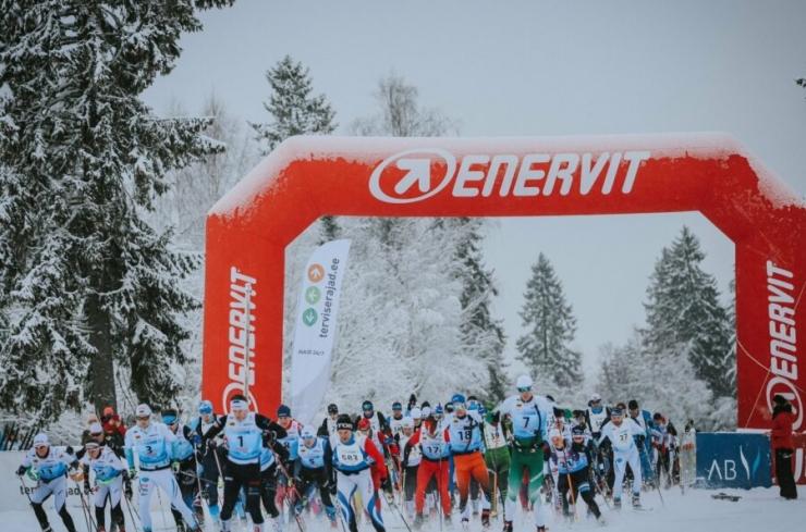 Viru suusamaratonil osales üle 800 rahvaspordihuvilise