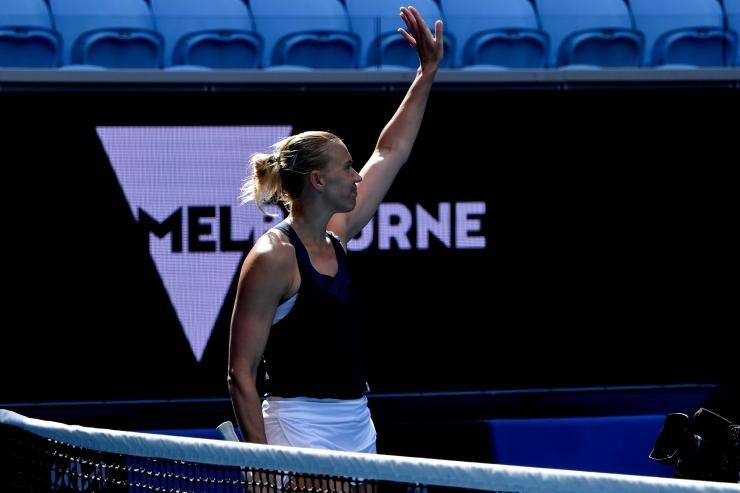 Kaia Kanepi jõudis Austraalias WTA 500 kategooria turniiri finaali