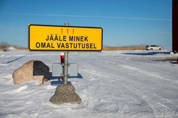 Rajameister annab Noarootsi jääteele lootust