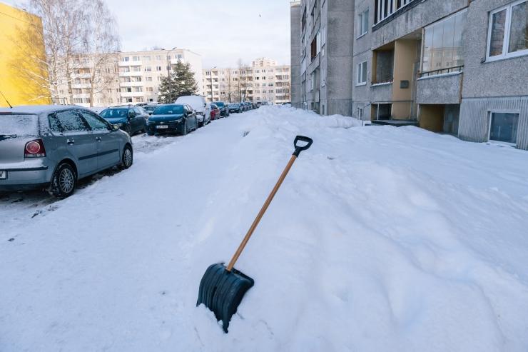 Pühapäeval sajab mitmel pool lund