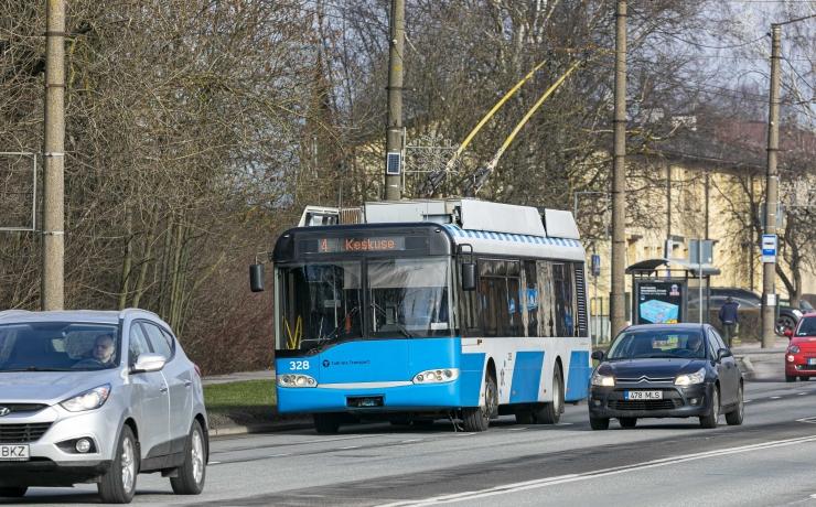 Tallinna kesklinnas asendavad trolle 1 ja 5 bussid 71 ja 75
