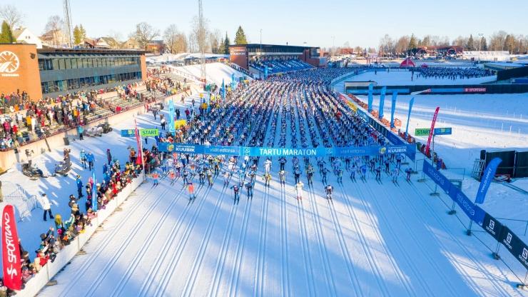 Tartu suusamaratonil triumfeerisid üle 16 aasta taas eestlased