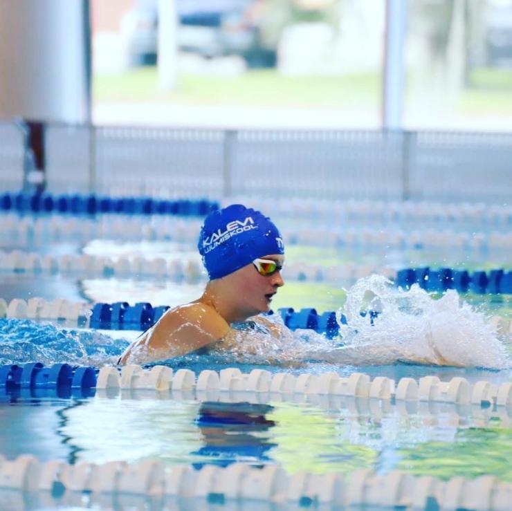 Kalevi ujumiskool viib noored talendid tippu