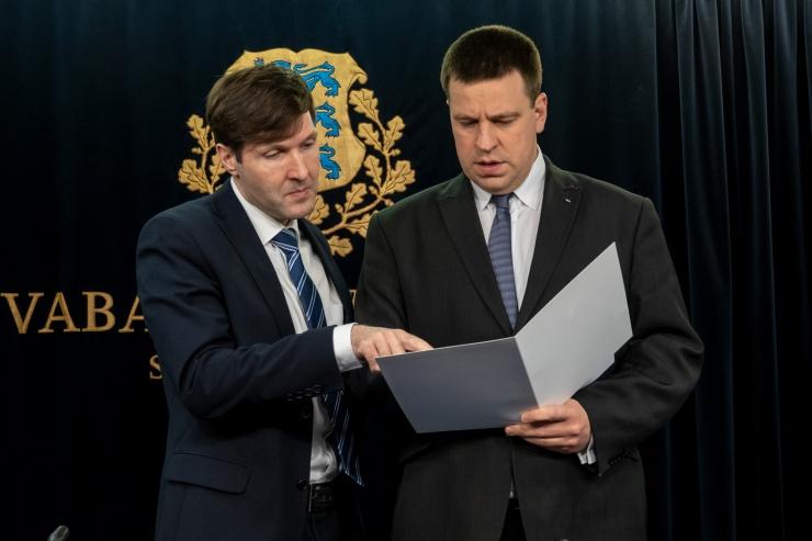 Martin Helme: usun, et Jüri Ratas sobiks presidendiks