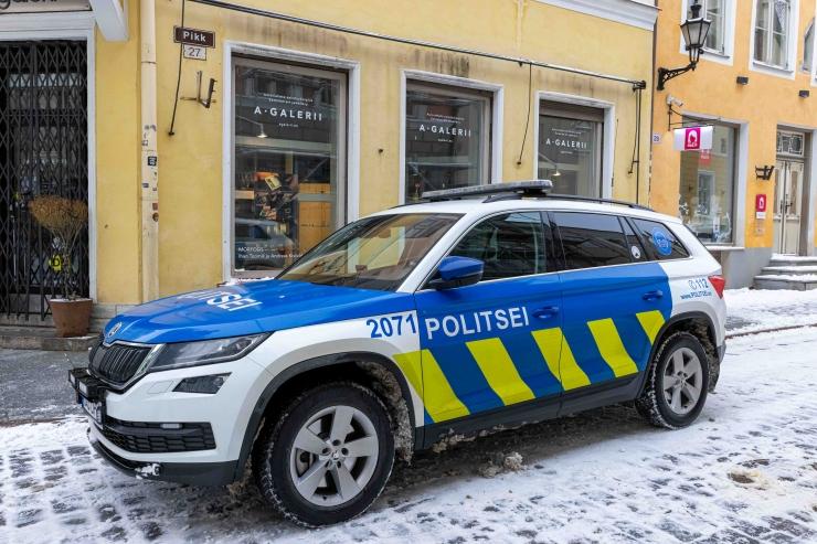 Politsei ajas Tallinna kesklinnas laiali kaks pidu