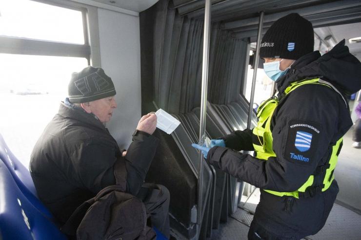 MUPO REID: maskivastaseid bussis vähemuses, 20 reisijast vaid kahel puudus mask