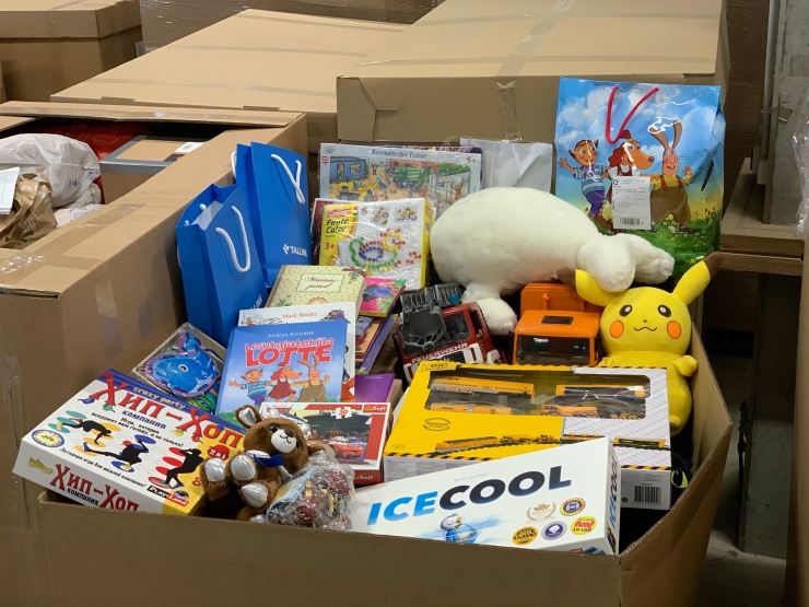 Heategijad annetasid rekordilise koguse mänguasju