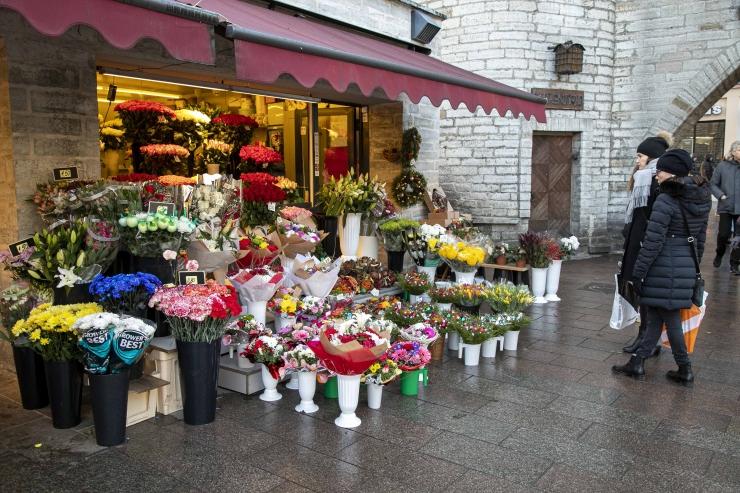 Mupo: Naistepäeva puhul on avatud ligipääs Viru tänava lillekioskite juurde. Kandke maske!