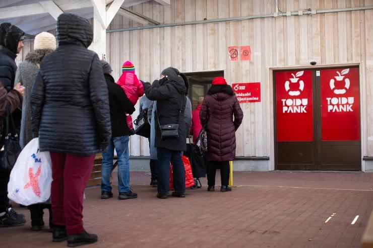 Põhja-Tallinnas saab Euroopa Liidu toiduabi üle 700 inimese