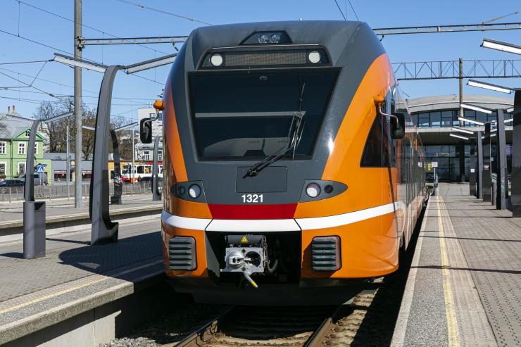 Pühapäeval muutuvad rongide sõiduplaanid