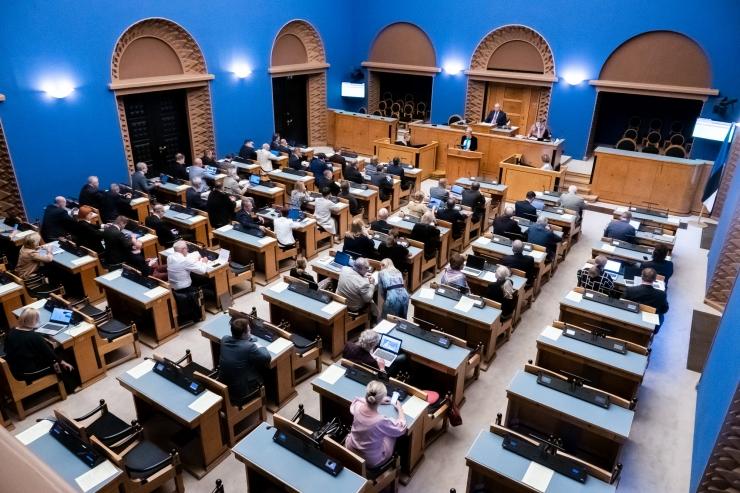 Komisjon saatis valitsusele ettepanekud erakondade rahastamise kohta